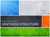 Sentence Structure: Baby and Parent Clauses