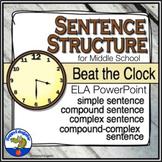 Sentence Structure - Beat the Clock
