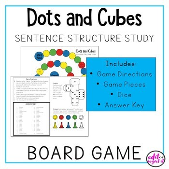 Sentence Structure Board Game