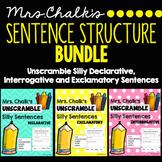 Sentence Structure Bundle - Declarative, Interrogative, Ex