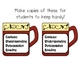 Sentence Structure CUPS