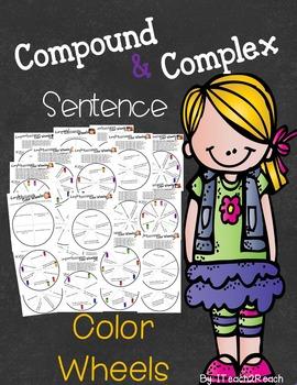 Sentence Structure Color Wheels