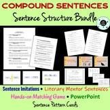 Sentence Structure - Compound Sentence Bundle - STAAR - PA