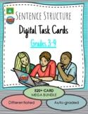 Sentence Structure DIGITAL 520+ Cards Task Card Mega Bundl