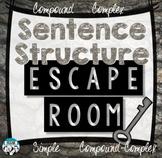 Sentence Structure Escape Room