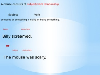 Sentence Structure Intro