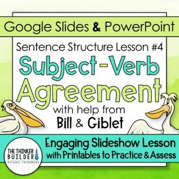 Free Subject Verb Agreement Teaching Resources Teachers Pay Teachers