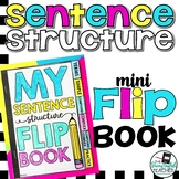 Sentence Structure Mini Flip Book