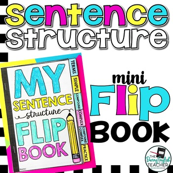 Sentence Structure Mini Flip Book