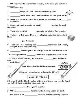 Sentence Structure MixUps PLUS Homophone Mistakes (6 Worksheets)