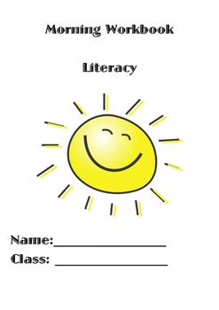 Sentence Structure Morning Workbook