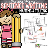 Sentence Structure Naming and Telling Parts of a Sentence
