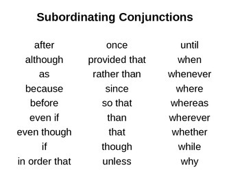 Sentence Structure Power Point