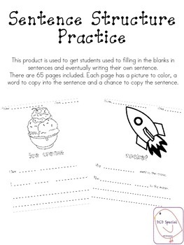 Sentence Structure Practice