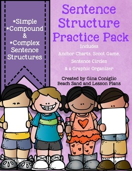 Sentence Structure Practice Pack