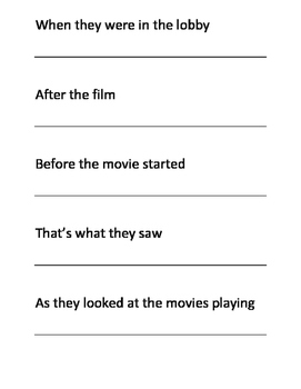 Sentence Structure Printable Cards - independent and subordinate clauses