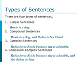 Sentence Structure, Punctuation, and Sentence Combining