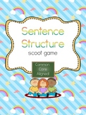 Sentence Structure Scoot- Common Core Aligned