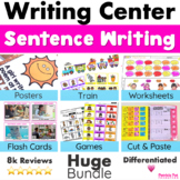 Writing Station Sentence Writing - Sentence Structure