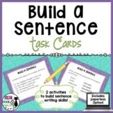 Sentence Combining Task Cards