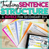 Sentence Structure Teaching Bundle