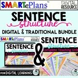 Sentence Structure Unit (Digital and Traditional Bundle) D