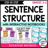 Sentence Structure - Sentence Writing - Subjects, Predicat