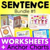 Sentence Structure - Writing Super Complete Sentences - BUNDLE #1