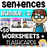 Sentence Structure - Writing Super Complete Sentences - BUNDLE #2