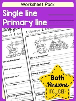 Sentences Writing for Halloween and Sentence Structure Practice Differentiated