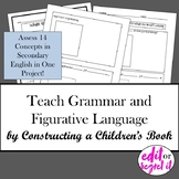Sentence Structure and Figurative Language Childrens Book