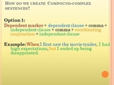 Sentence Structure and Grammar PowerPoint
