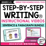 Sentence Structure and Paragraph Writing Video Bundle | Di