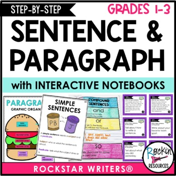 Sentence Structure and Paragraph Writing - How to Write a Sentence and Paragraph