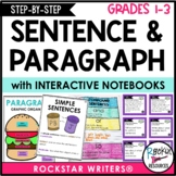 Sentence Structure and Paragraph Bundle - How to Write a Sentence and Paragraph