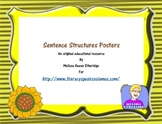 Sentence Structures Posters