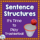 Sentence Structures Trashketball Review Game
