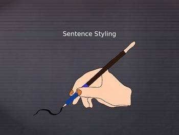 Sentence Styling
