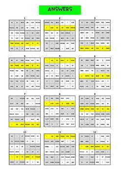 Sentence Sudoku Puzzles - No Prep