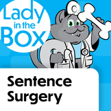 Sentence Surgery with Dr. Lola- BOOM Cards