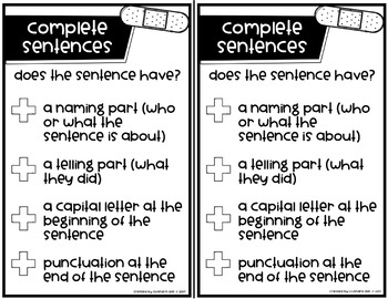 Sentence Surgery: A Complete Sentence Writing Mini-Unit