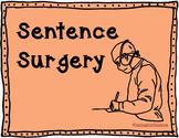 Sentence Surgery Grammar Practice