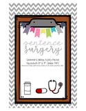 Sentence Surgery {Grammar & Writing Activity Pack}