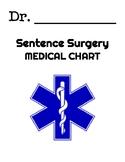 Sentence Surgery Recording Sheet