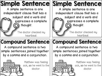 Sentence Surgery {Simple to Compound Sentences}