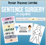 Sentence Surgery in SPANISH!! Run-on Sentences and Revising Sentences