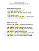 Sentence Surgery with Future Tense verbs