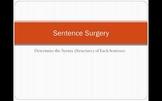 Sentence Surgery