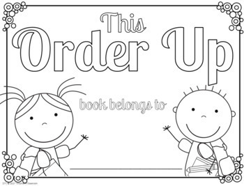 Sentence Task Cards: Order Up-Sequence, Edit, Write Print and Google Interactive