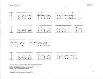 Sentence Tracing